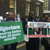 APC – PDP Demonstration outside Chatham House UK