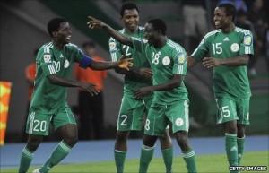 Nigeria u20 celebrate victory