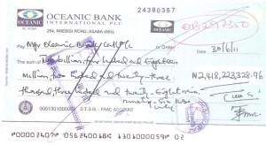 Obasanjo Checks