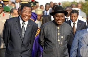 Presidents of Benin and Nigeria