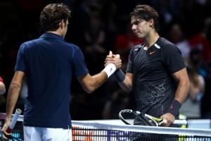 Roger Federer defeated rival Rafael Nadal