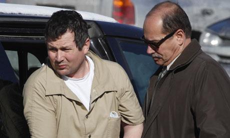 British arms dealer Gary Hyde, left