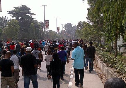 Nigeria Shuts Down