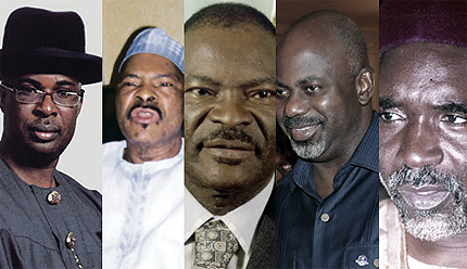 five powerful state governors ordered removed
