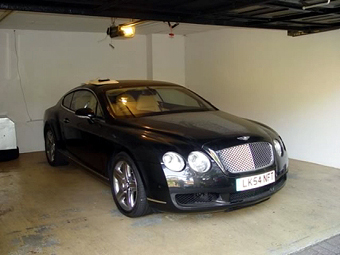 Ibori's Bentley Continental GT