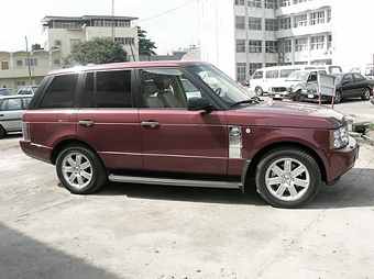 Ibori's Range Rover
