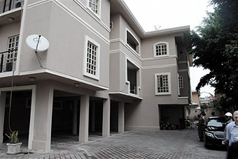 Udoamaka Okoronkwo's mansion in Lagos