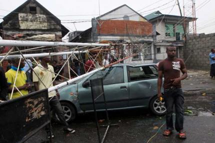 Storm in Lagos