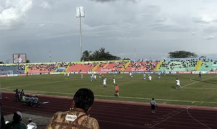 U.J. Esuene Stadium in Calabar
