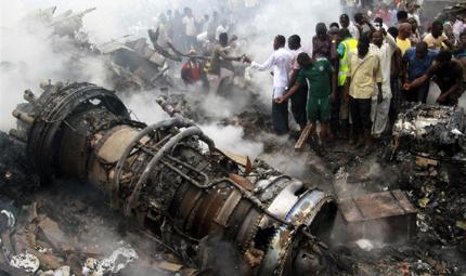 Dana Airlines Crash in Lagos