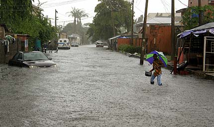 Widespread Flooding in Nigeria