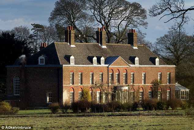 Idyllic: The Cambridges will increasingly use Anmer Hall (pictured) as their main base ¿ particularly as they will have two children under two by next spring. The ten-bedroom Georgian mansion is close to William's new job
