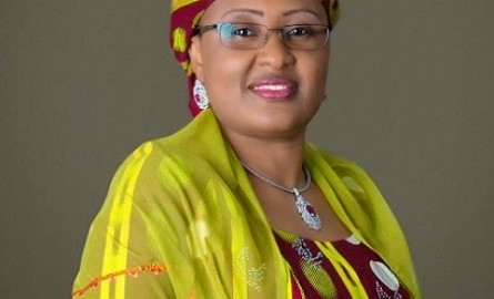 Aisha Buhari explores issues in maternal, child health