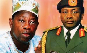Abiola and Abacha