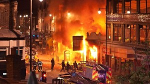 A new report into the London riots has shown no evidence the police shooting victim had a gun in his hand.