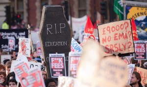 London Student Protest