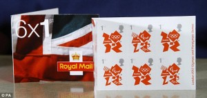 Official Stamps London 2012