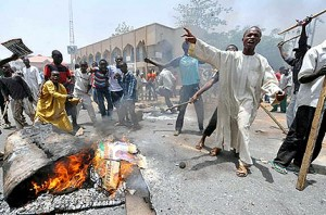 Fuel Protest in Nothern Nigeria