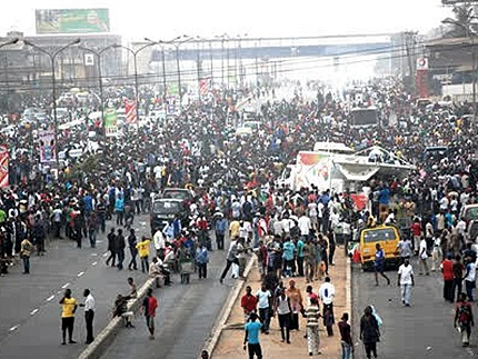 Lagos Fuel Protest