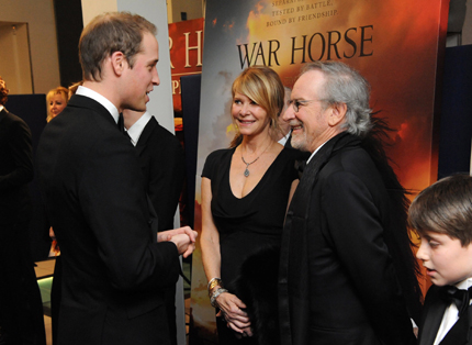War Horse - UK Premiere - Inside Arrivals