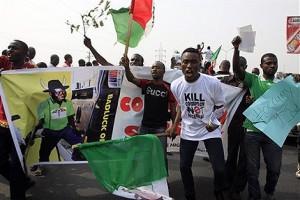 Fuel Subsidy Protestors