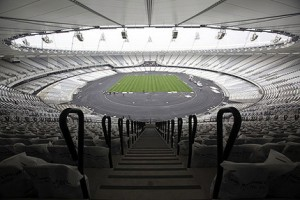 London 2012 Olympic Stadium Construction Completed