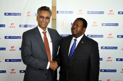 Airtel Nigeria and First Bank Nigeria Forge Relationship