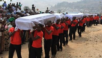Madalla victims mass burial
