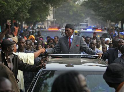 President Abdoulaye Wade