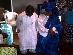 Mosunmola Filani and Kayode Oduoye, CEO, Shalom Group