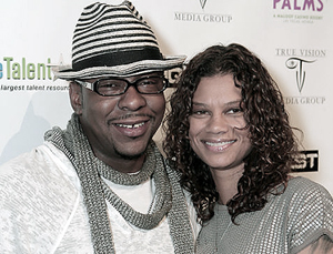 Bobby Brown and Alicia Etheridge