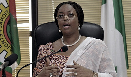 Minister of Petroleum Resources, Mrs. Diezani Alison-Madueke