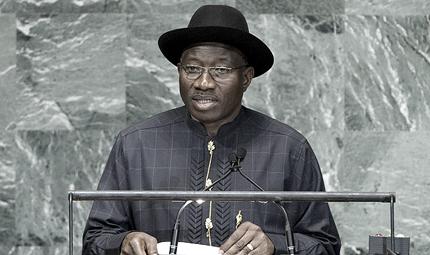 President Goodluck Johnathan