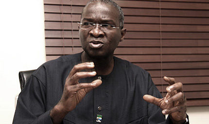 The Lagos State governor, Babatunde Fashola