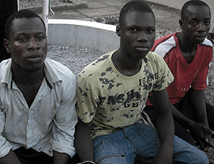 The Suspected kidnappers
