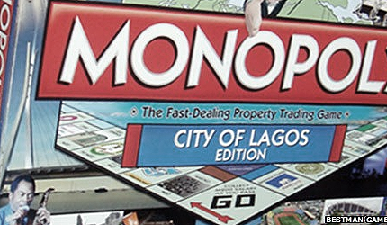 The Monopoly game - City of Lagos edition
