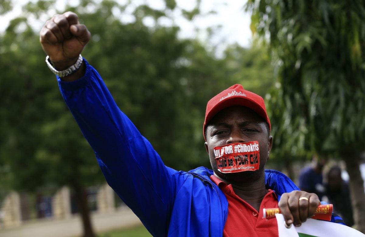 Boko Haram protester